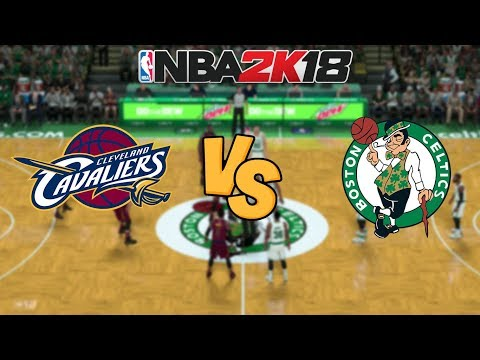 NBA 2K18 - Cleveland Cavaliers vs. Boston Celtics - Kyrie INSANE Game Winner! - Full Gameplay