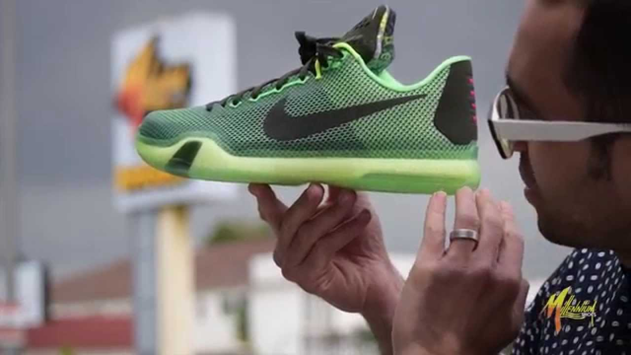 reputable site 56d27 d31b4 Nike Kobe X Vino On-Foot Review