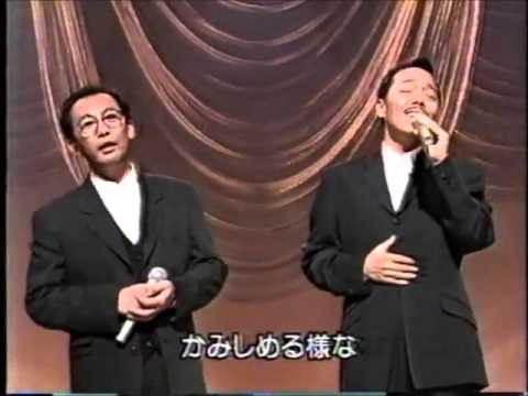 """Tanimura shinji und Sada Masashi """"muen zaka"""" 谷村新司 と 精霊流"""