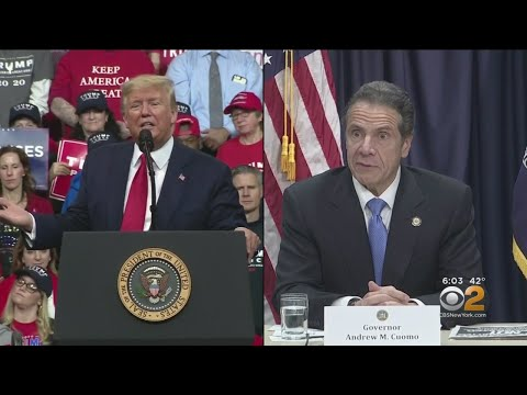 Gov. Andrew Cuomo Meets With President Donald Trump To Discuss Trusted Traveler Ban