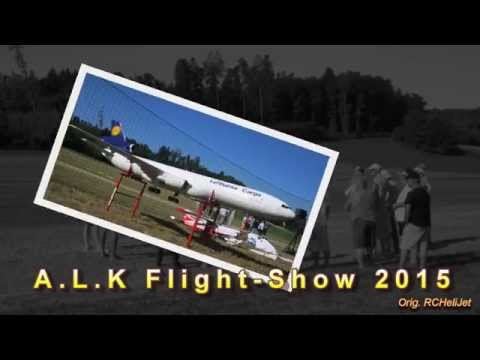 Scale RC Helicopter Eurocopter AS-350 Ecureuil A.L.K Flightday 2015