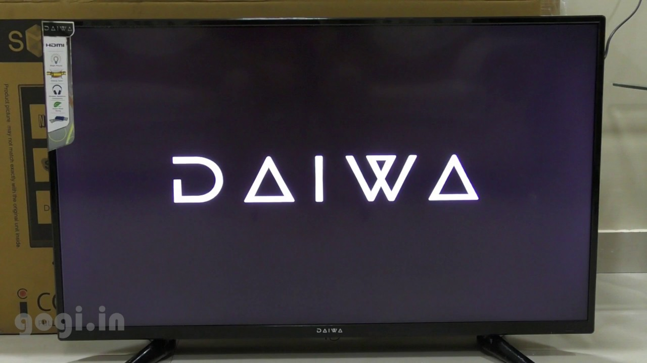 Daiwa 40 inch Smart Full HD LED Television with Web Cruiser Remote review