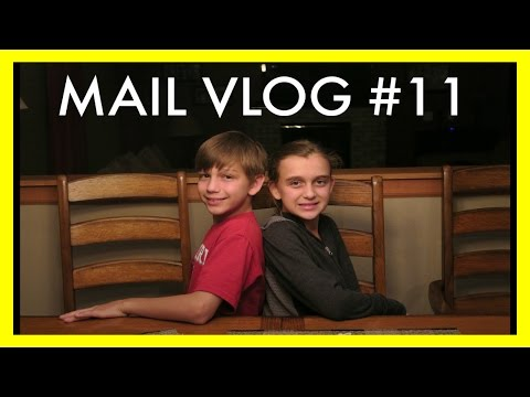 MAIL VLOG #11 - WE LOVE OUR VIEWERS!!