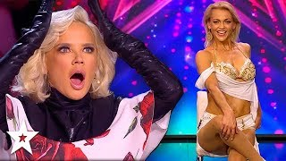 SEXY Acrobat WOWS Judges on Croatia's Got Talent | Got Talent Global