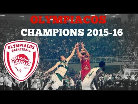 ΠΡΩΤΑΘΛΗΤΕΣ ΕΛΛΑΔΑΣ 2015-16 | Olympiacos BC | Basket League Finals