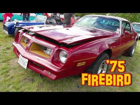 RARE! 1975 Pontiac 455 Firebird - Trans Am Upgrade