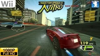 Need for Speed: Nitro - Wii Gameplay 1080p (Dolphin GC/Wii Emulator)