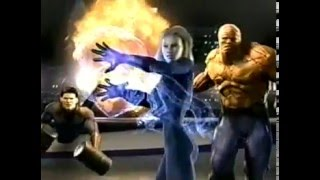 Fantastic Four (2005) The Game Commercial