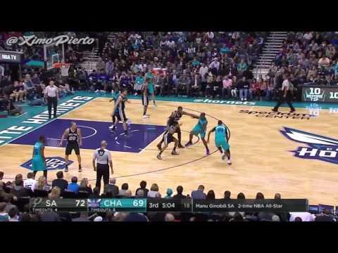 San Antonio Spurs vs Charlotte Hornets | Full Game Highlights | 11-23-16