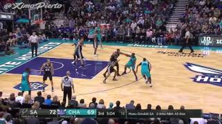 San Antonio Spurs vs Charlotte Hornets | Full Game Highlights | 11-23-16