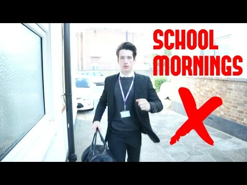 TEENAGE BOYS SCHOOL MORNING ROUTINE LIVE // OCTOBER 2016