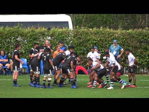 1st Half  Fiji Vs Nz Schoolboys 2017 Tri Nations 1