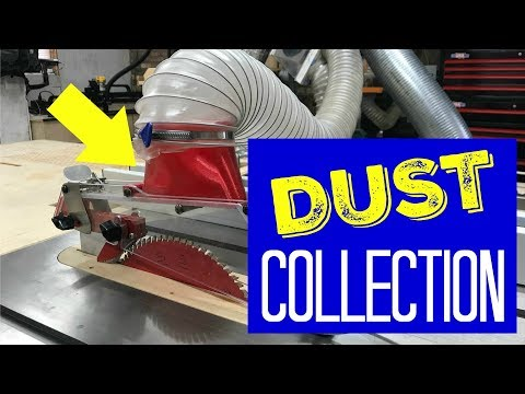 Dust Collection Tour - Woodworking