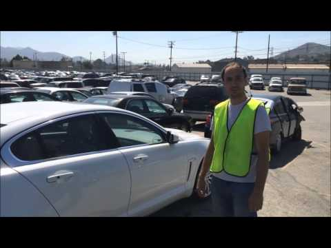2015 Jaguar XF inspection at Copart by Cars West Global
