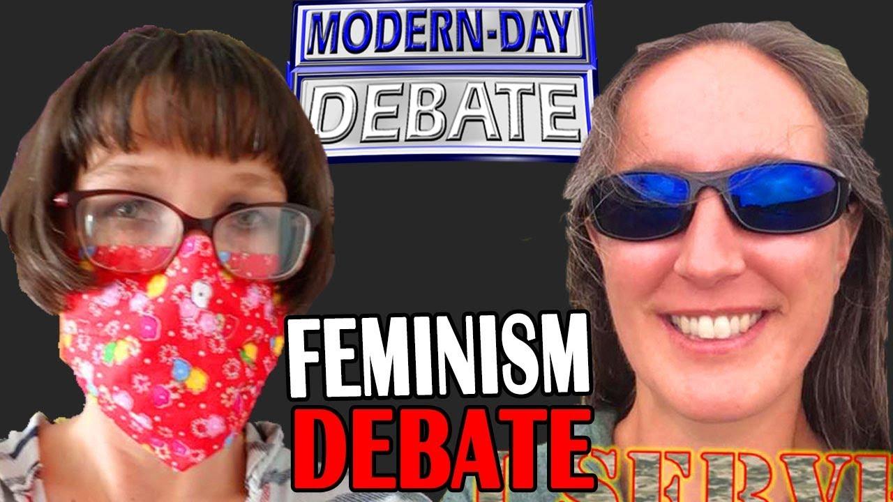 Dr Kristi Winters Vs ShadowDancer   Feminism DEBATE