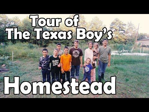 Tour of The Texas Boy's Homestead