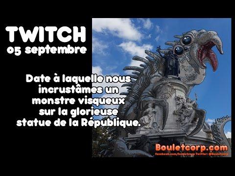 Twitch // Place de la République