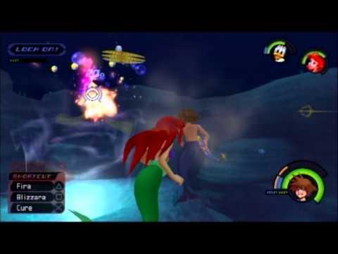 Kingdom Hearts FM [PS3] Playthrough #045, Atlantica (2/4): The Sunken Ship