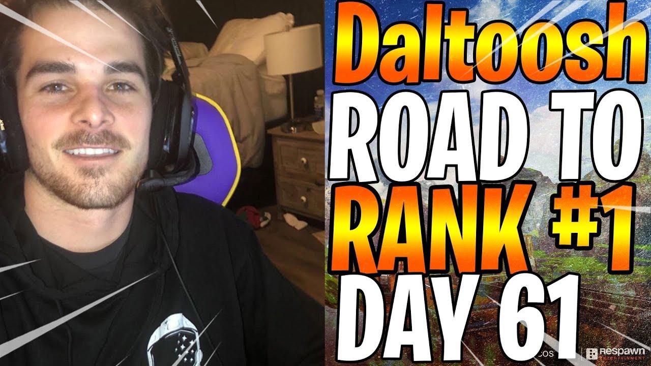 Daltoosh  - ROAD TO RANK #1 DAY 61 - With SoaR_Jonny & Xednim - 25 SQUADS KILLS