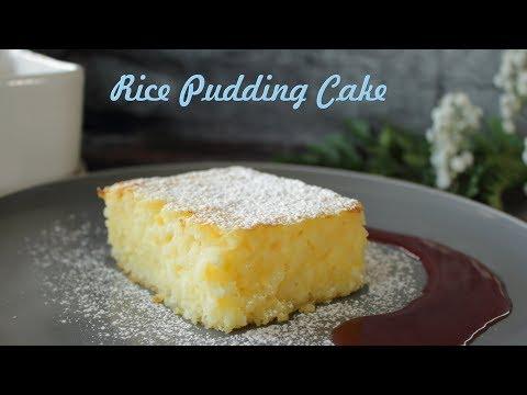Hungarian Rice Pudding Cake (Rizskoch)