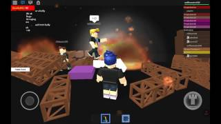 Roblox with friends part one