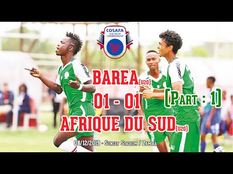 BAREA (U20) 01- 01 AFRIQUE DU SUD (U20) - 08/12/2019 / Part 1