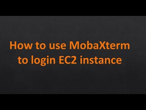 How to Login to EC2 instance Using without convertion Key with MobaXterm