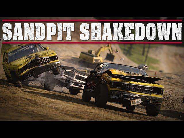 Next Car Game - Sandpit Circuit Gameplay
