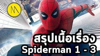 เตรียมตัวก่อนดู : spiderman homecoming : สรุปเนื้อเรื่อง spiderman 1 - 3