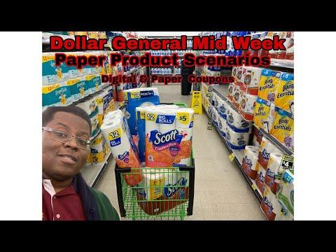 Dollar General – Mid Week Paper Product Deals – Digital & Paper Coupons – 11/24 – 11/30