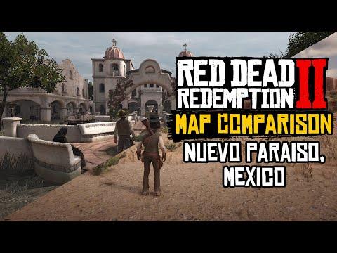 Red Dead Redemption 2 Map Comparison | Mexico