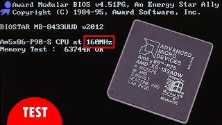 486 from 75 MHz to 160 MHz and how memory timings matter