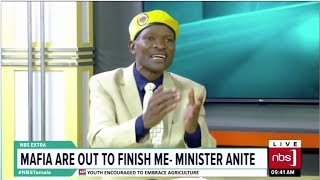 Better Resign Early, Tamale Advices Minister Anite| One on One With Tamale Mirundi