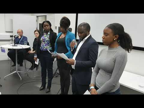 Congolese Support Group, Youth Leaders seeking Justice for Asylum Seekers in UK