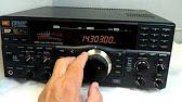 Receiver JRC NRD-535 vs tranceiver Kenwood TS-870 - YouTube