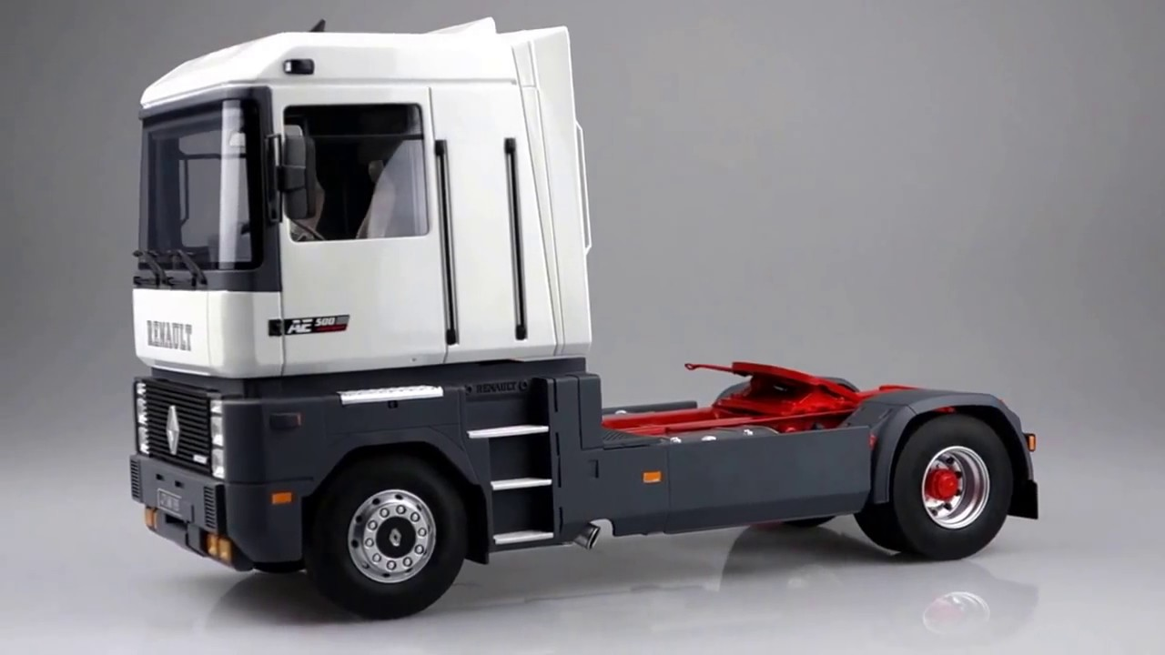 Camion A Vendre >> Renault Magnum 1:18 (OttOmobile OT215) - YouTube