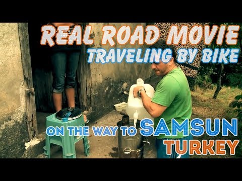 Bicycle Travel [Real Road Movie] Episode 63: on the way to Samsun, Turkey (Eng Sub)