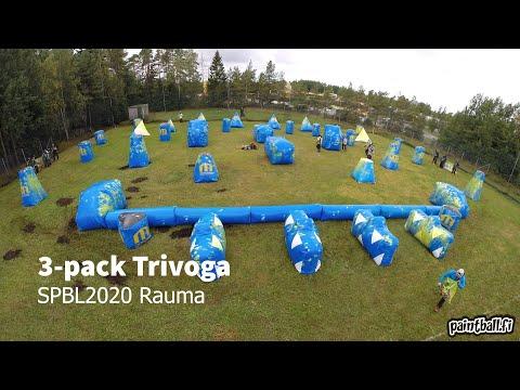 3-pack Trivoga - SPBL2020 Rauma