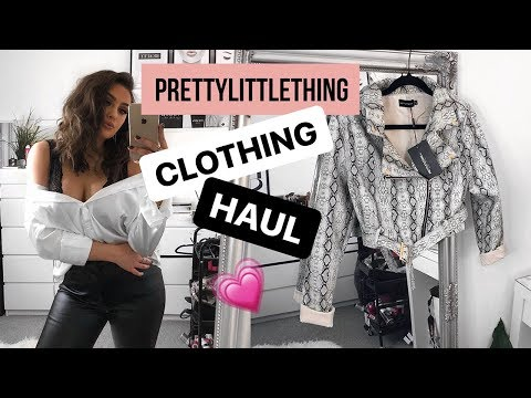 fdac1fc6d5c1 PRETTY LITTLE THING & MISSGUIDED TRY ON HAUL!   Online Vs reality by ...