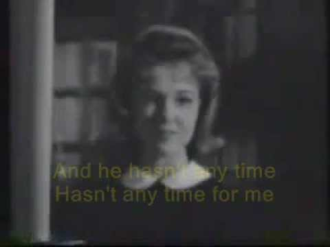 Elvis Presley's girl co- star Shelley Fabares sings - Big Star (with Lyrics)