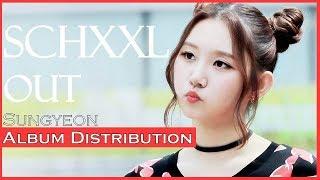Sungyeon(Pristin)-SCHXXL OUT Album distibutiom