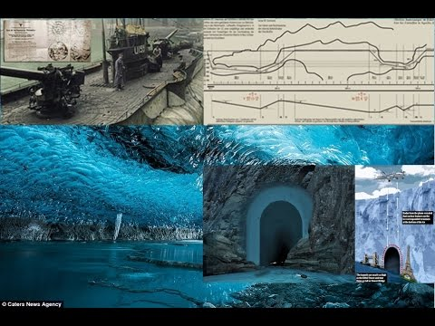 High Strangeness in Antarctica   Tunnels as tall as the Eiffel Tower discovered