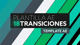 Transiciones Flat - Plantilla After Effects [Template AE]