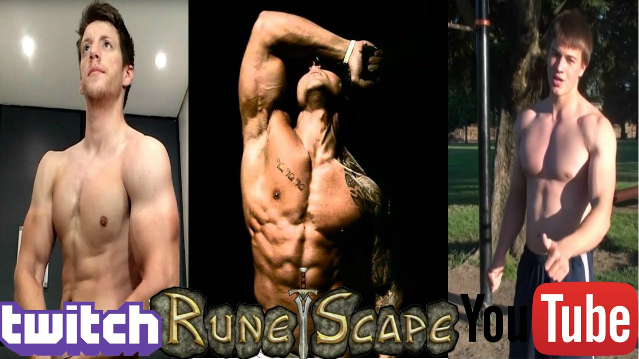 7 Most Ripped Runescape Players - YouTube