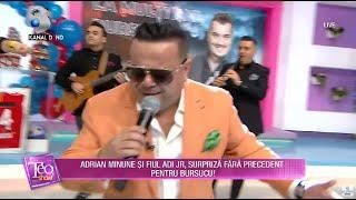 Teo Show(26.02.2021) - Adrian Minune, spectacol cum nu s-a mai pomenit de ziua lui Bursucu!