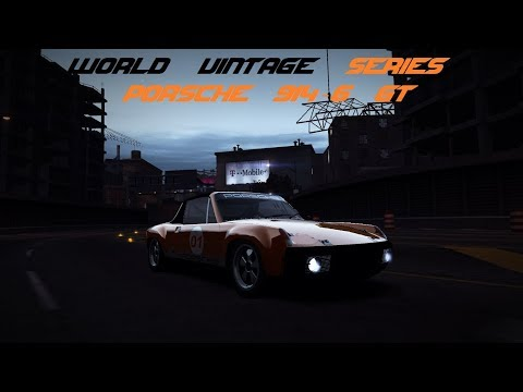 Need for Speed World Offline: World Vintage Series Edition Porsche 914-6 GT Test Drive