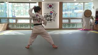 공수도온라인대회참가 (초등부) 카타 대한공수도 김왕건