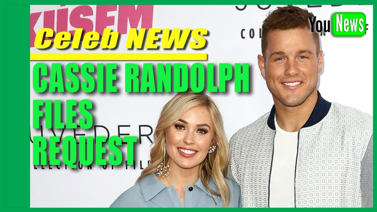 Cassie Randolph Files Request for Restraining Order Against ...