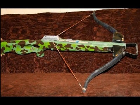homemade recurve crossbow