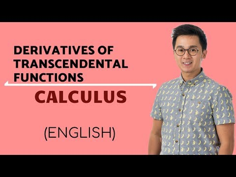 Calculus - Finding the Derivatives of Transcendental Functions